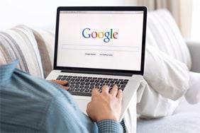 aanmelden bij Google